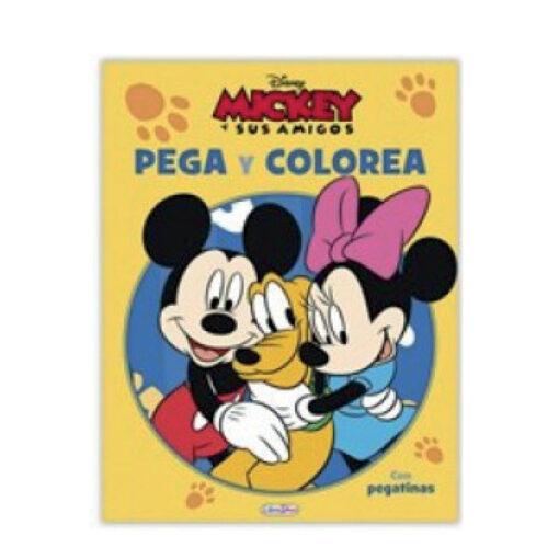 Cuadernos pega y colorea Disney CU809-7