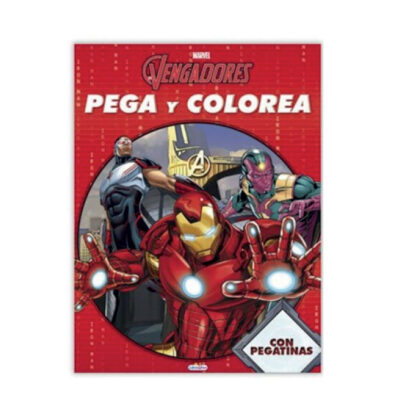 Cuadernos pega y colorea Vengadores CU739