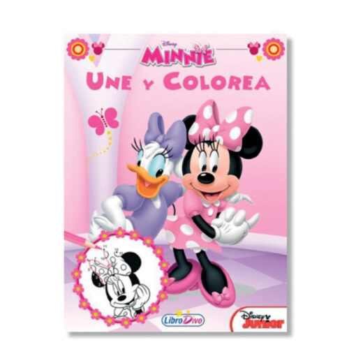 Cuadernos une y colorea Disney CU706-1