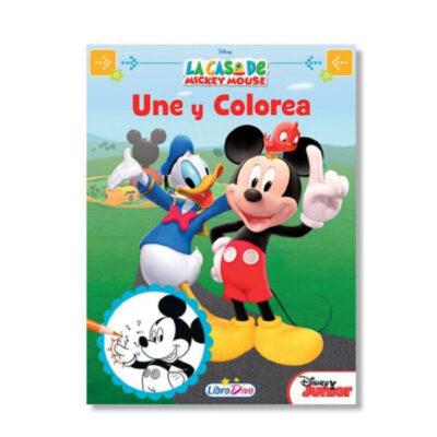 Cuadernos une y colorea Disney CU706