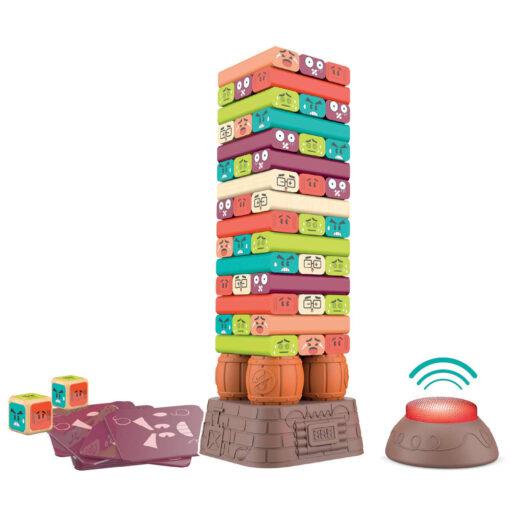 Juego torre bloques madera JU46490-1