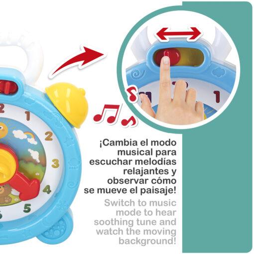 Reloj infantil musical RE46619-2
