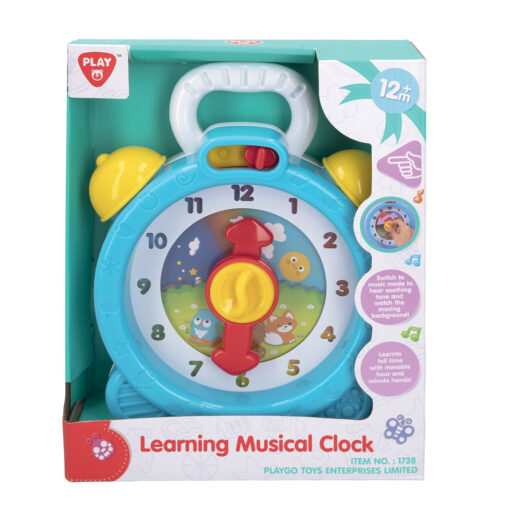 Reloj infantil musical RE46619