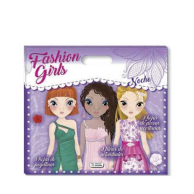 Set 2 cuadernos fashion girls SE41