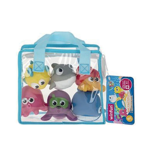 Set 6 animales baño JU46527