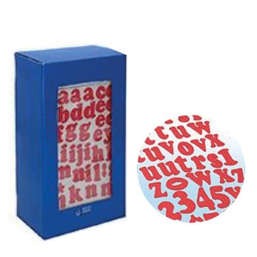 Blister etiquetas alfabeto ET73367-1