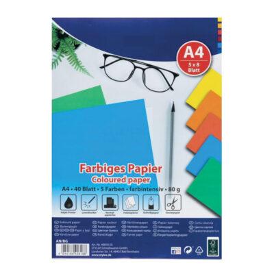 Paquete 40 hojas papel A4 PA40818