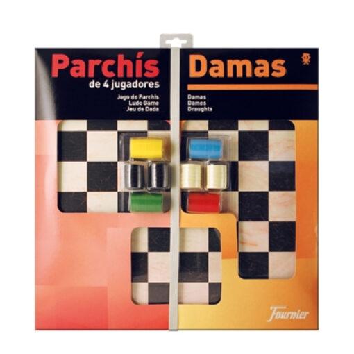 Tablero parchis y damas F28981