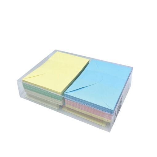 Blister sobres y tarjetas pastel SO8314P