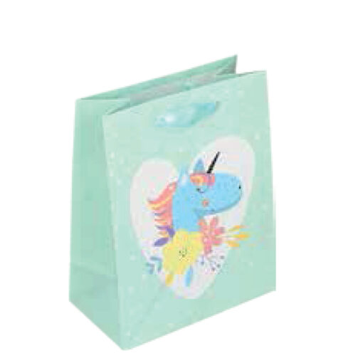 Bolsa unicornios mediana BO71051-1