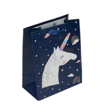 Bolsa unicornios mediana BO71051