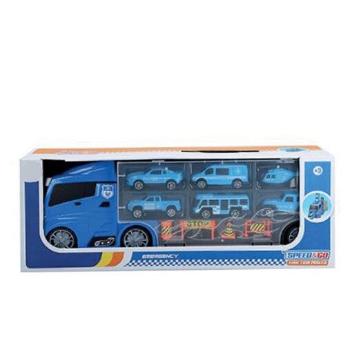 Camion porta coches policia JU49212
