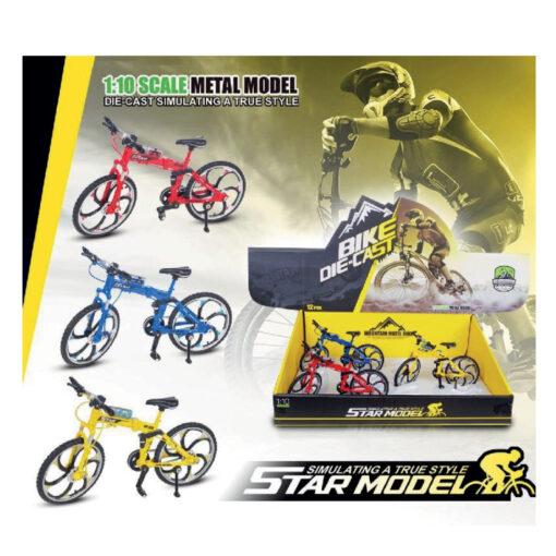 Bicicleta metal carreras JU8183-1