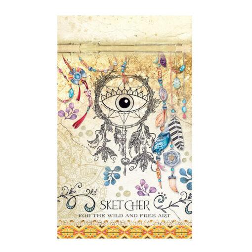 Cuaderno B5 estampado BL177