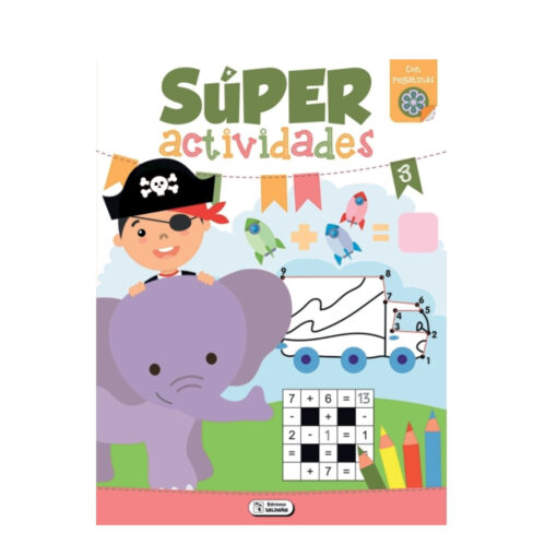 Cuaderno Super actividades CU40-2
