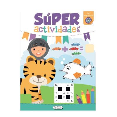 Cuaderno Super actividades CU40