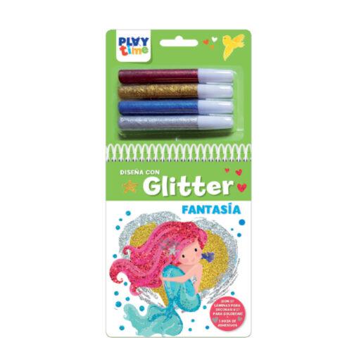 Cuaderno diseña con glitter CU6021