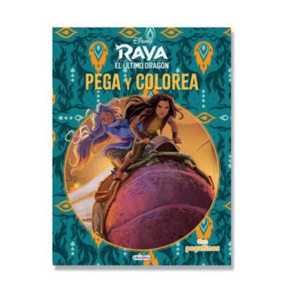 Cuadernos Pega y colorea Raya CU905