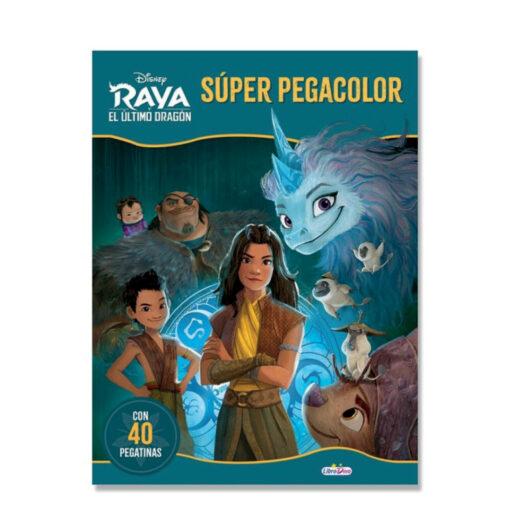 Cuadernos Pega y colorea Raya CU906