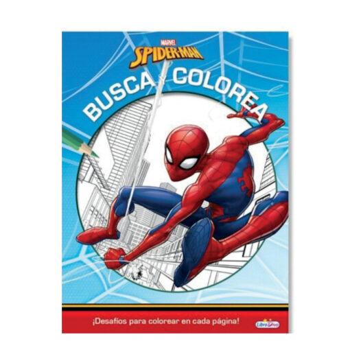 Cuadernos busca y colorea Marvel CU896-1