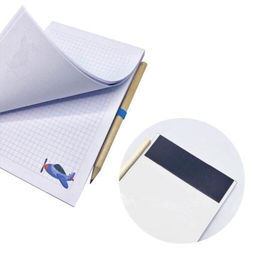 Libreta imantada lápiz LI327509-4