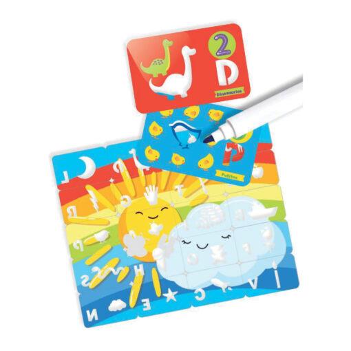Maletin juegos con sombras letras y numeros JU4129-2