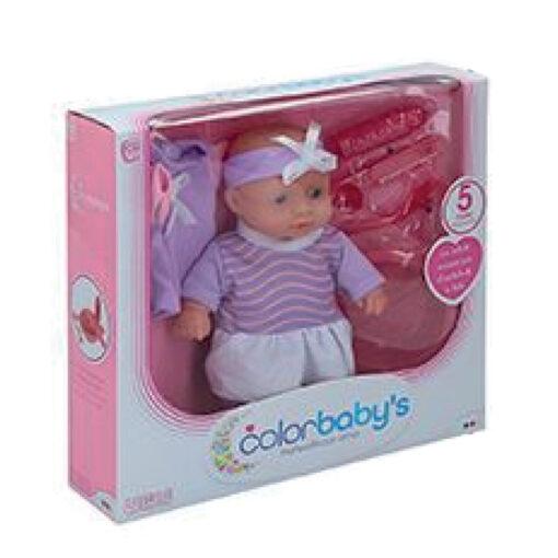 Muñeca bebe accesorios MU43708-1