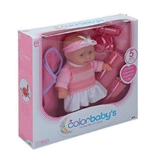 Muñeca bebe accesorios MU43708-2