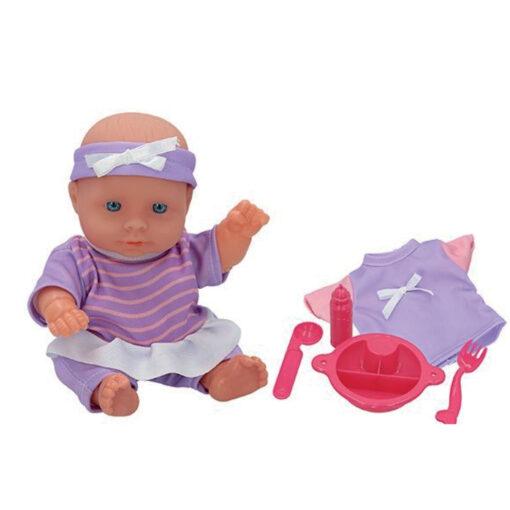 Muñeca bebe accesorios MU43708