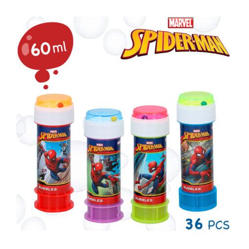 Tubo pompas Spiderman JU22985-2