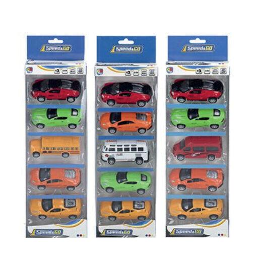 Caja 5 coches JU43384-1