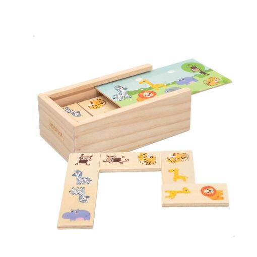 Domino madera Animales DO46461-1
