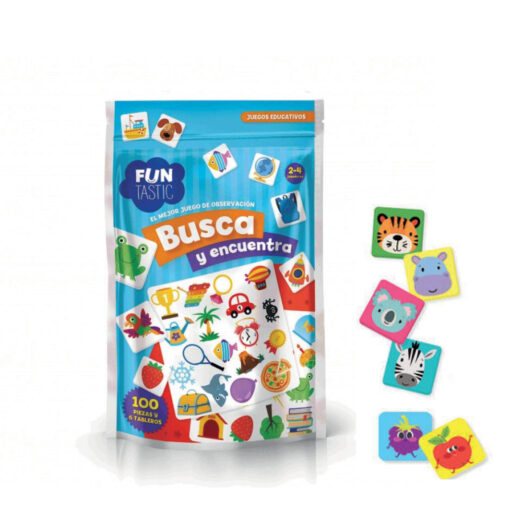 Expositor 15 bolsas juegos educativos JU525-3