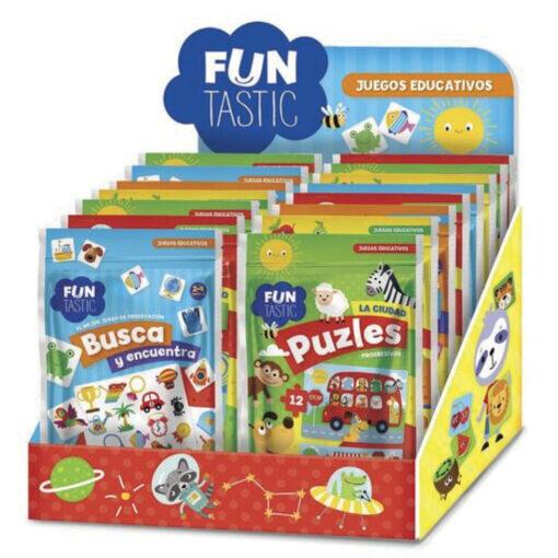 Expositor 15 bolsas juegos educativos JU525