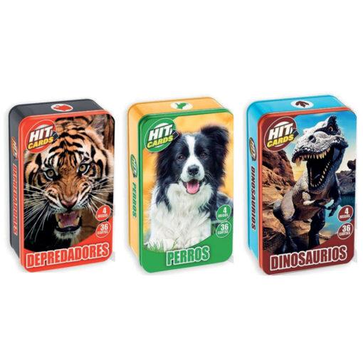 Expositor 18 juegos de cartas coleccionables JU501-1