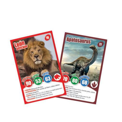 Expositor 18 juegos de cartas coleccionables JU501-3