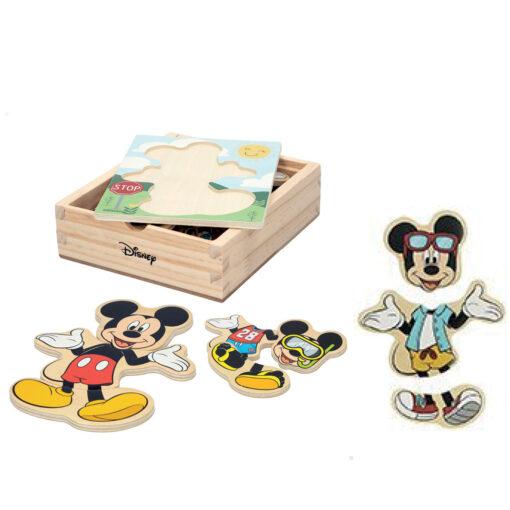 Puzzles madera trajes Mickey JU48723-1