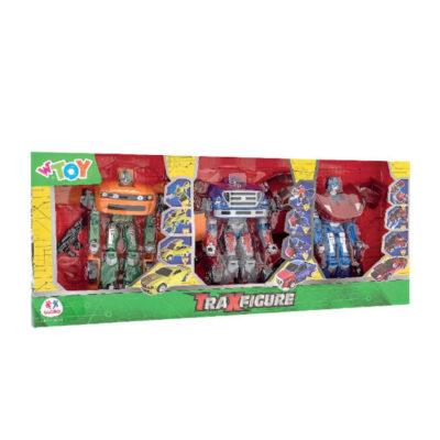 Caja 3 robots transformers JU40720