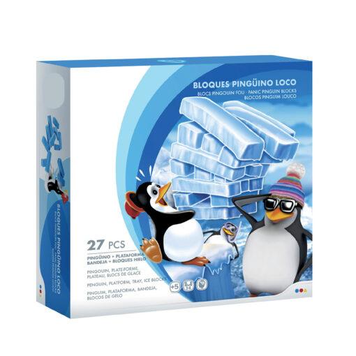 Juego bloques pinguino JU46643
