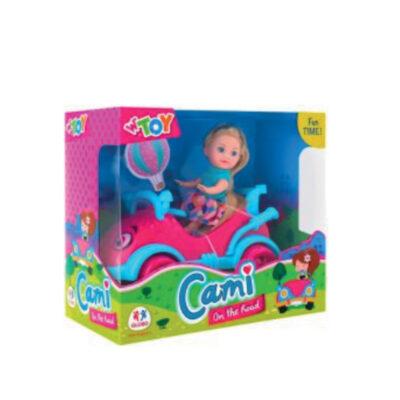 Muñeca con coche MU39617
