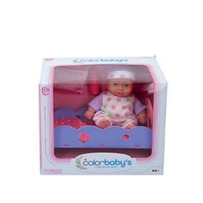 Muñeco bebe accesorios MU43714