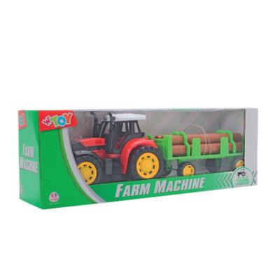 Tractor Agrícola remolque JU36593